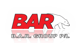 B.A.R. Group Logo. Click to return to home page